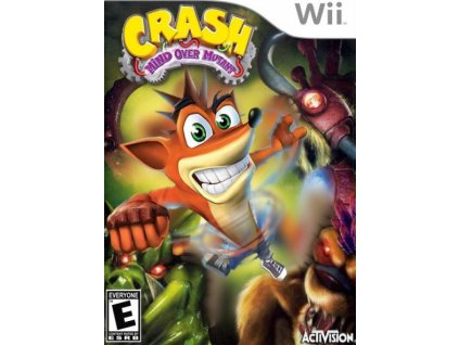 nintendo wii crash mind over mutant