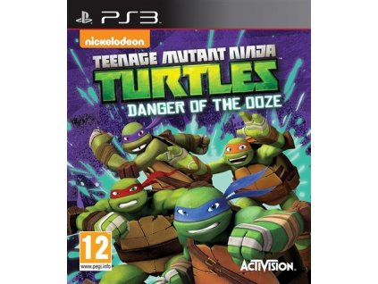 PS3 Teenage Mutant Ninja Turtles Danger of the Ooze