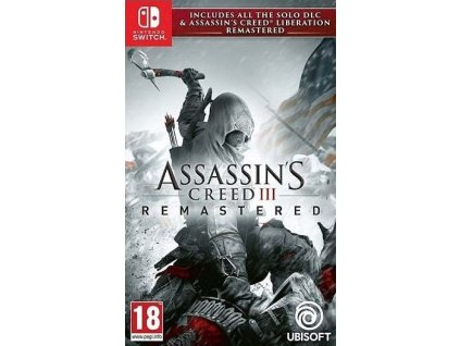 Switch Assassins Creed 3 Remastered + AC Liberation Remastered