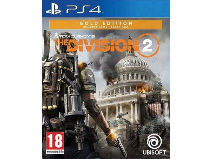 PS4 Tom Clancys The Division 2 Gold Edition