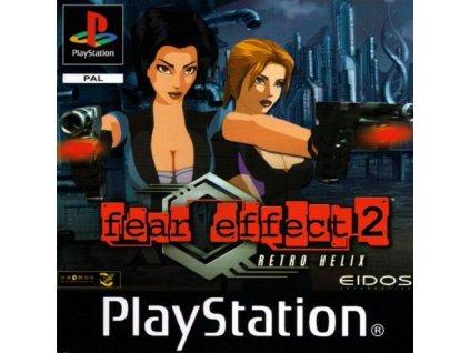 fear effect 2 retro helix psx 1