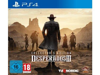 PS4 Desperados 3 Collectors Edition