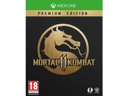 XONE Mortal Kombat 11 Premium Edition Steelbook Nové