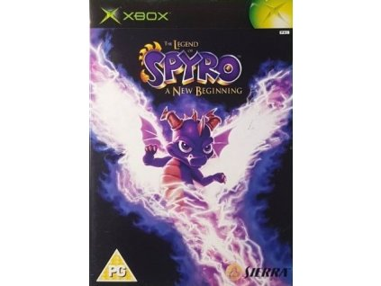 xbox the legend of spyro a new beginning