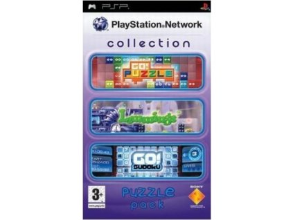 psp playstation network collection puzzle pack