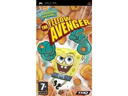 spongebob squarepants yellow avenger psp