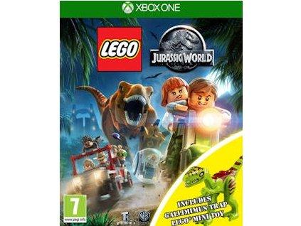 XONE LEGO Jurassic World + figurka Gallimimus
