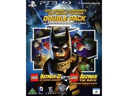 PS3 Lego Batman 2 DC Super Heroes + Lego Batman The Movie