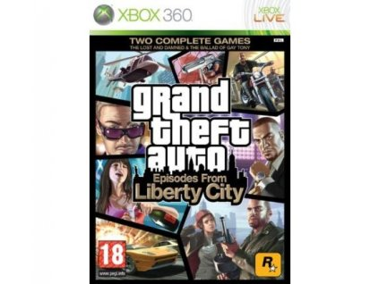 X360 Grand theft Auto Episodes from Liberty City (GTA)