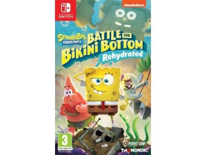 Switch Spongebob SquarePants Battle for Bikini Bottom Rehydrated