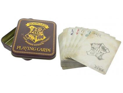 Hrací karty Harry Potter Hogwarts