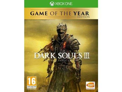 XONE Dark Souls 3 The Fire Fades Edition GOTY Nové