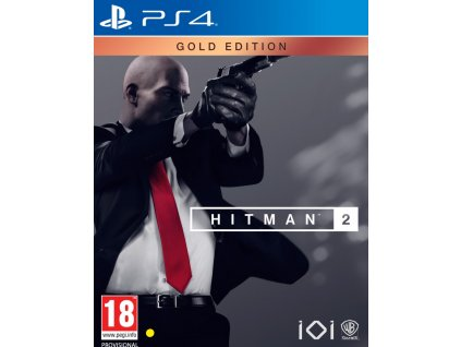 PS4 Hitman 2 Gold Edition Steelbook