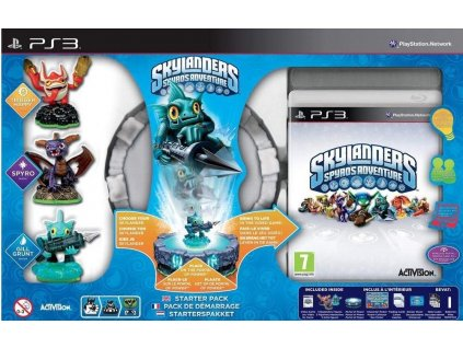 PS3 Skylanders Spyros Adventure Starter