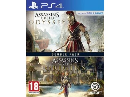 PS4 Assassins Creed Odyssey CZ + Assassins Creed Origins CZ