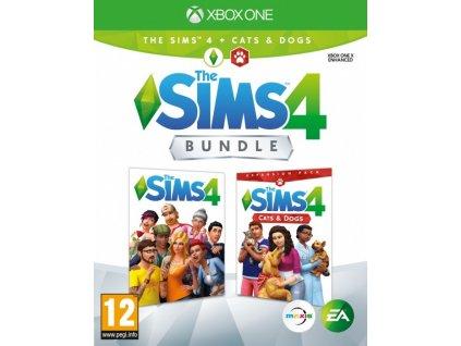 XONE The Sims 4 + The Sims 4 Psi a kočky
