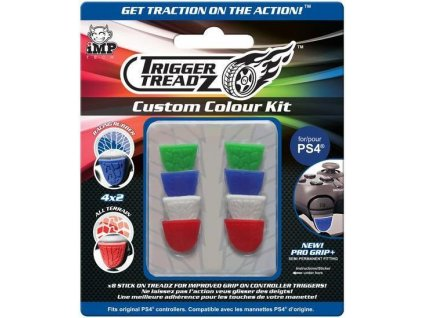 PS4 Trigger Treadz Custom Colour Kit