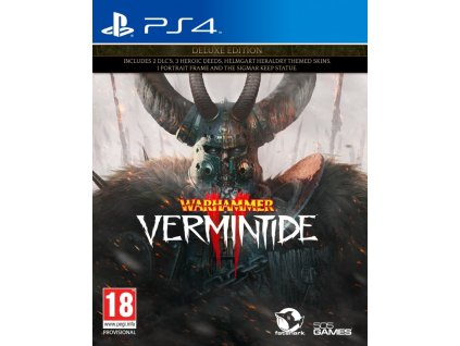 PS4 Warhammer Vermintide 2 Deluxe Edition