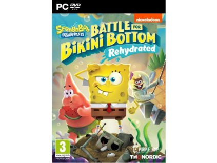 PC Spongebob SquarePants Battle for Bikini Bottom Rehydrated