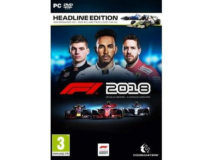 PC F1 2018 Headline Edition