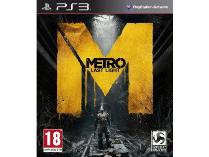 PS3 Metro Last Light CZ