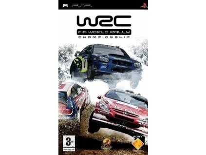 PSP WRC World Rally Championship