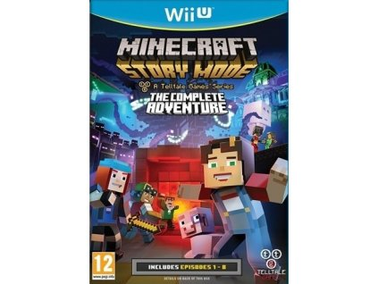 WiiU Minecraft Story Mode Complete Adventure