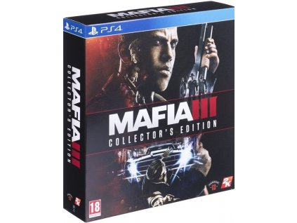 PS4 Mafia 3 Collectors Edition