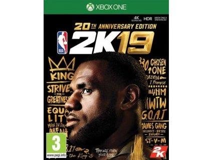 XONE NBA 2k19 20th Anniversary