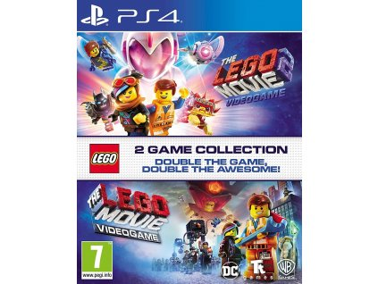 PS4 Lego The Movie Videogame + Lego The Movie Videogame 2