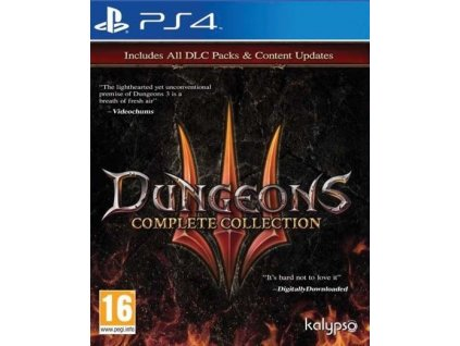 PS4 Dungeons 3 Complete Collection