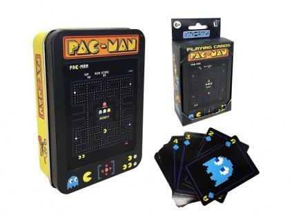 Hrací karty Pac Man