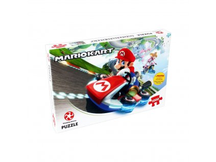 Puzzle Mario Kart FunRacer 1000 dílků