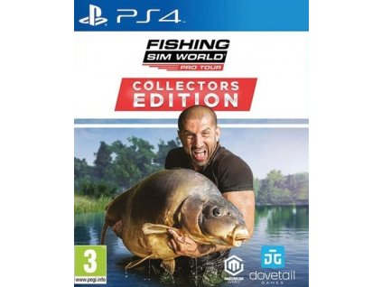 PS4 Fishing Sim World Pro Tour Collectors Edition