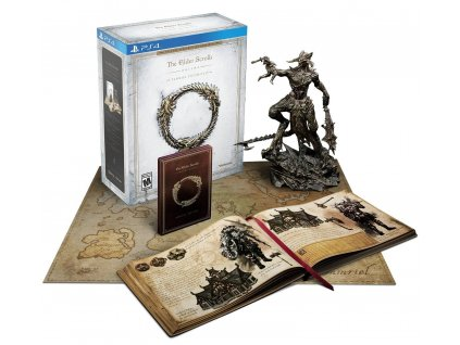 PS4 The Elder Scrolls Online Tamriel Unlimited Imperial Edition