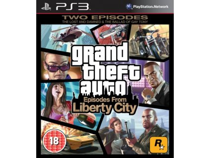 PS3 Grand theft Auto Episodes from Liberty City (GTA)