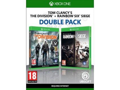 XONE Tom Clancys The Division CZ + Tom Clancys Rainbow Six Siege CZ