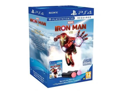 PS4 Playstation Move Twin Pack + Marvel Iron Man VR