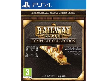 PS4 Railway Empire Complete Collection