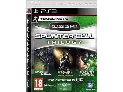 PS3 Tom Clancys Splinter Cell Trilogy
