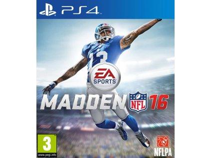 PS4 Madden NFL 16