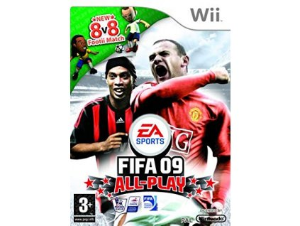 Wii FIFA 09 All-Play