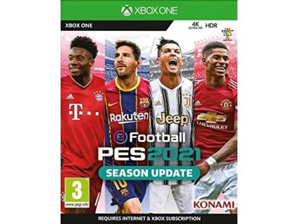 XONE Pro Evolution Soccer 2021 Season Update