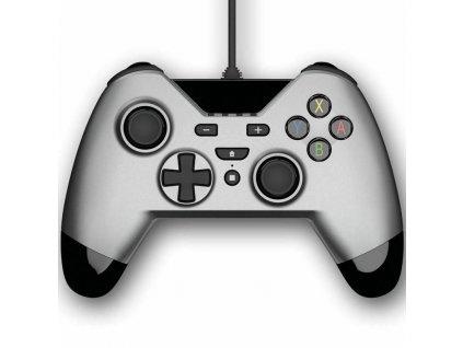 Switch/PS3/PC ovladač drátový Gioteck WX4 Silver
