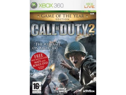 X360 Call of Duty 2 Game of the Year Edition