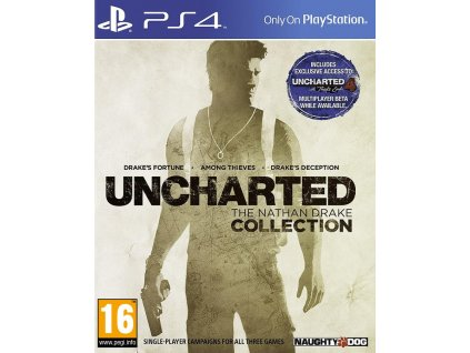 PS4 Uncharted The Nathan Drake Collection CZ Nové