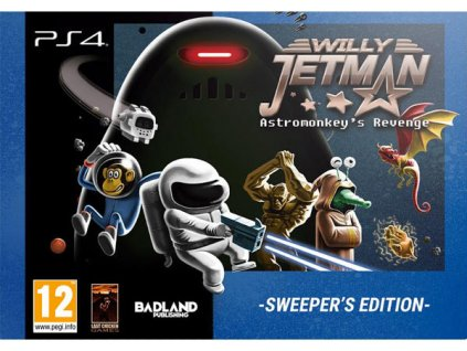 PS4 Willy Jetman The Astromonkeys Revenge Sweeper Edition
