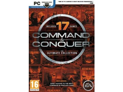 PC Command and Conquer The Ultimate Collection