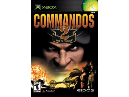 XBOX Commandos 2 Men of Courage
