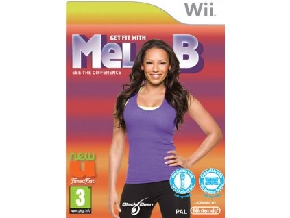 Wii Get fit with Mel B
